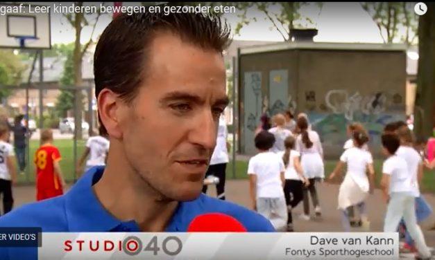 Opnames Studio040: Nieuw project moet Eindhovense kinderen meer doen bewegen